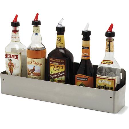 """38322BH - Speed-Rak™ holds (5) 1-liter bottles 22"""", 4-1/8"""", 6"""" - Stainless Steel"""