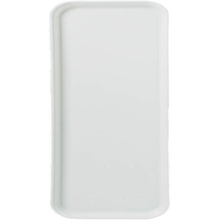 """1220FG001 - Glasteel™ Solid Metric Tray 20.9"""" x 12.8"""" - Bone White"""
