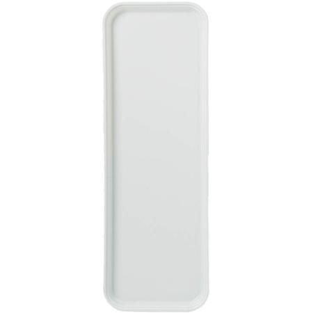 "269FG001 - Glasteel™ Solid Display/Bakery Tray 8.75"" x 25.5"" - Bone White"
