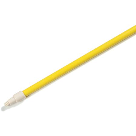 "4022704 - Sparta® 60"" Solid Foam-Filled, Threaded Fiberglass Handle w/Flex Tip, 1"" D  - Yellow"