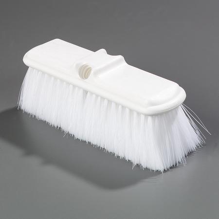 """4005002 - Flo-Pac® Flo-Thru Nylex Brush With Flagged Nylex Bristles 9-1/2"""" - White"""