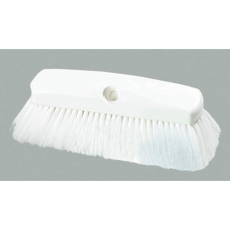 "4127802 - Sparta® Spectrum® Flo-Thru Wall & Equipment Brush 10"" - White"
