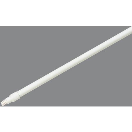 """4122500 - Spectrum® 48"""" Fiberglass Handle with Self Locking Flex™ Tip 1"""" Dia - White"""