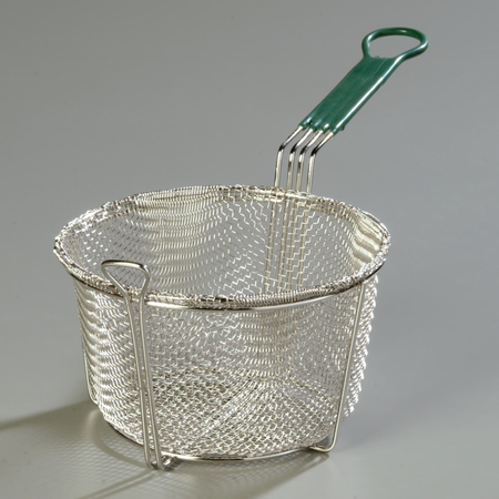 601028 - Mesh Fryer Basket Cool Touch Handle  - Chrome