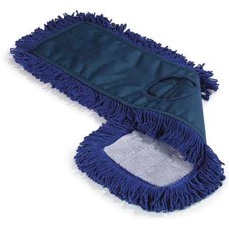 """364883614 - Flo-Pac® Launderable Dust Mops 36"""" x 5"""" - Blue"""