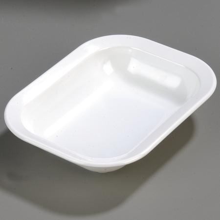 4374502 - Melamine Rectangle Baker Server 28 oz. - White