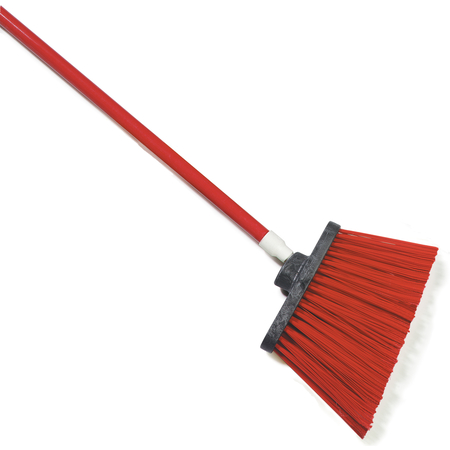 """4108305 - Sparta® Spectrum® Duo-Sweep® Angle Broom Unflagged 56"""" Long - Red"""