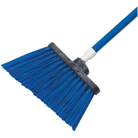 """4108314 - Sparta® Spectrum® Duo-Sweep® Angle Broom Unflagged 56"""" Long - Blue"""