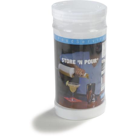 PS601N-907 - Stor N' Pour® Quart Complete (Container/Lid/Neck/Spout)  - Cash & Carry - Clear