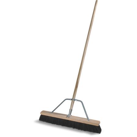 "367360TC03 - 24"" Medium Polypropylene Sweep 24"" - Black"