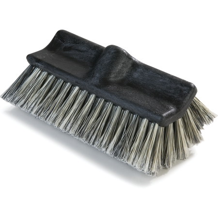 "3649700 - Flo-Pac® Flo-Thru Dual Surface Brush with Flagged Polystyrene Bristles 10"""