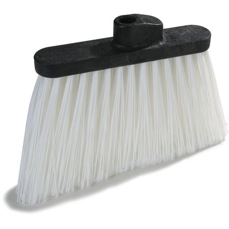 "3686702 - Duo-Sweep® Medium Duty Angle Broom w/12"" Flare (Head Only) 12"" - White"