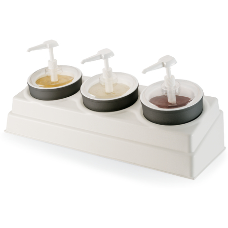 "CM105802 - Coldmaster® Crock & Organizer Condiment Set 26-1/2"", 10-1/2"", 6-31/32"" - White"