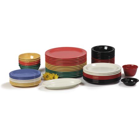 "4350102 - Dallas Ware® Melamine Dinner Plate 9"" - White"