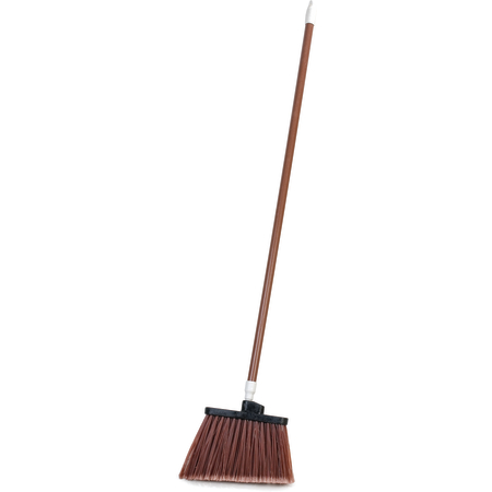 """4108201 - Sparta® Spectrum® Duo-Sweep® Angle Broom Flagged Bristle 56"""" Long - Brown"""