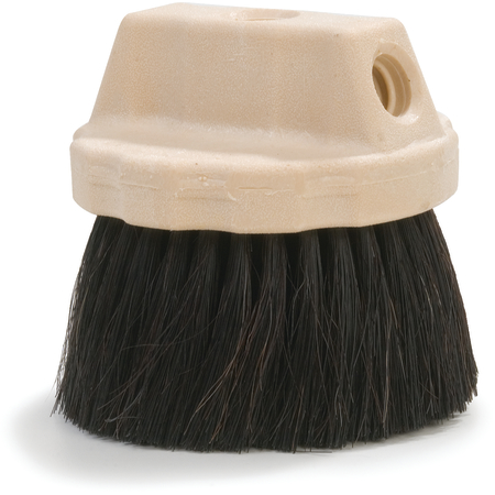 "365127 - Round FloThru Window Wash Brush 4-1/2"" - Black"