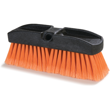 "36122224 - Flo-Thru Window Brush With Polystyrene Bristles 10"" - Orange"
