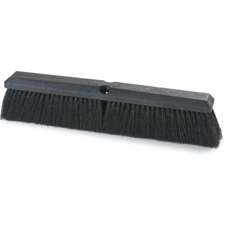"362208P1803 - Flo-Pac® Polypropylene Sweep 18"" - Black"