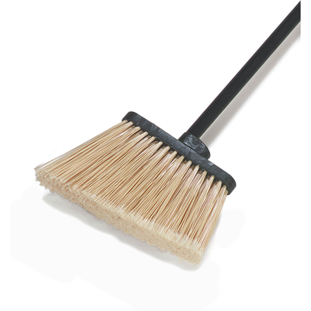 "36861L00 - Duo-Sweep® Duo-Sweep® Lobby Angle Broom w/6-1/2"" Flare Polypropylene Bristles 36"" - Black"