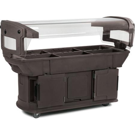 771101 - Maximizer™ Food Bar 6' x 2' x 4.5' - Brown