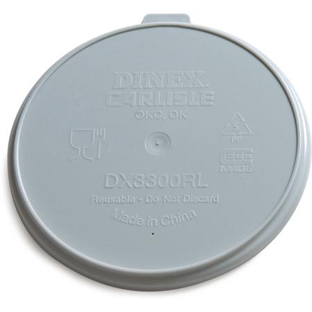DX3300RL - Turnbury® Reusable Lid for Turnbury Soup Bowl (250/cs) - Gray