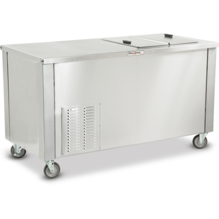 """DXDICF - Dinexpress® Ice Cream Freezer, 5.0 Cubic Feet 49""""L x 30""""D - Stainless Steel"""