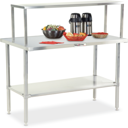 """DXDVLST3 - Valuexpress Solid Top Counter 49""""L x 30""""D x 36""""H - Stainless Steel"""