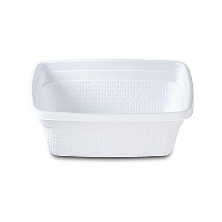DXTT20 - Rectangular Soup Bowl 8 oz (1000/cs) - White