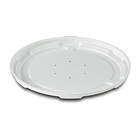 DXHH87 - Round Soup Bowl Lid (1000/cs) - White