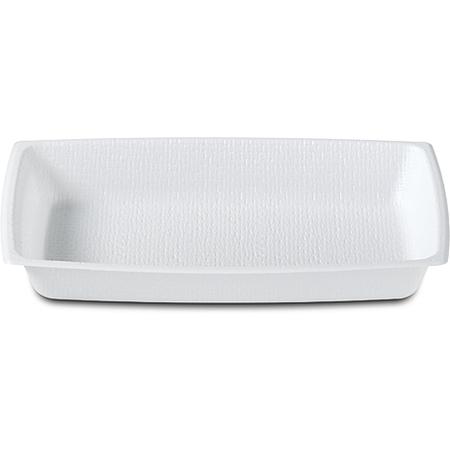 DXTT8 - Rectangular Entree One Compartment 12 oz (1000/cs) - White