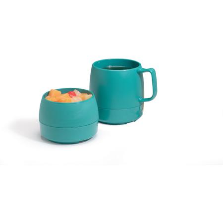 DX119715 - Classic™ Stackable Insulated Mug 8 oz (48/cs) - Teal