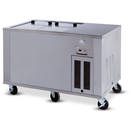 "DXICOCFICF8 - Ice Cream Freezer 8 Cubic Feet 65.50""L x 28""D - Stainless Steel"