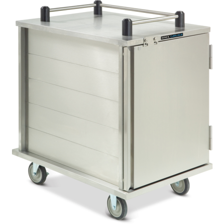 DXICTPT10 - Value Line Tray Cart, Enclosed Pass Thru  - Stainless Steel