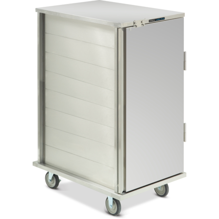 DXICT24 - Value Line Tray Cart, Enclosed  - Stainless Steel