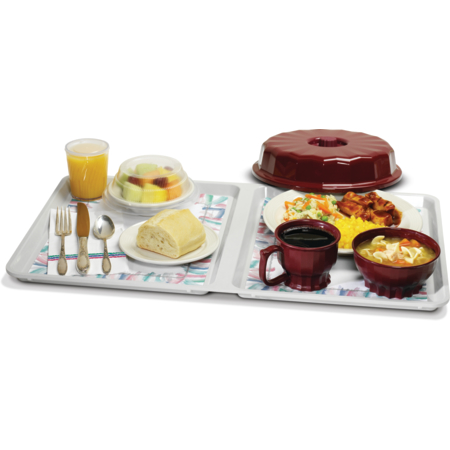 """DX1089MOC23 - Meals On Command™ Patient Tray 23""""x13.5"""" (20/cs) - Gray"""