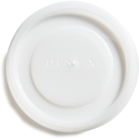 DX11988714 - Disposable Lid - Fits Specific 9.5 - 12 oz Dinex, Carlisle, Cambro and G.E.T. Enterprises Tumblers (1000/cs) - Translucent