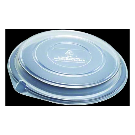 "DXL5400PDCLR - Dome Lid for 7"" Round Bowl (300cs/cs) - Clear"