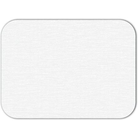 "DX5999S00102 - White Embossed Traycover Size: S w/ Straight Edge/Round Corner 12-1/4"" x 17"" (2000/cs)"