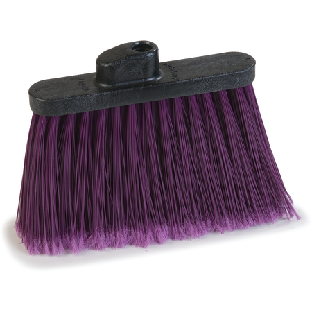 "4108268 - Sparta® Spectrum® Duo-Sweep® Angle Broom Flagged Bristle 56"" Long - Purple"