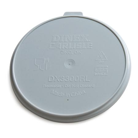 DX3000RL - Turnbury® Reusable Lid for Turnbury Mug/Bowl (250/cs) - Gray