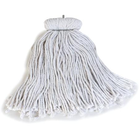 369016C00 - Flo-Pac® Kwik-On™ Screw Top Mop, Cotton #16 - Natural