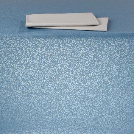 "59035252SM393 - Vative Series Rove Tablecloth 52"" x 52"" - Reflection Blue"