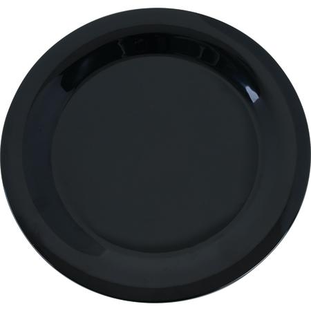 "3300203 - Sierrus™ Melamine Narrow Rim Dinner Plate 10.5"" - Black"