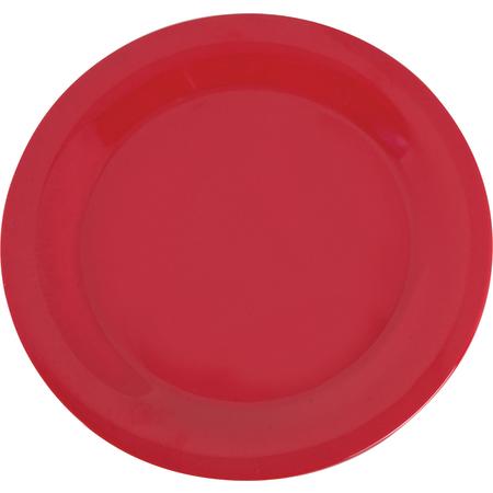 "3300205 - Sierrus™ Melamine Narrow Rim Dinner Plate 10.5"" - Red"
