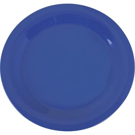 """3300214 - Sierrus™ Melamine Narrow Rim Dinner Plate 10.5"""" - Ocean Blue"""