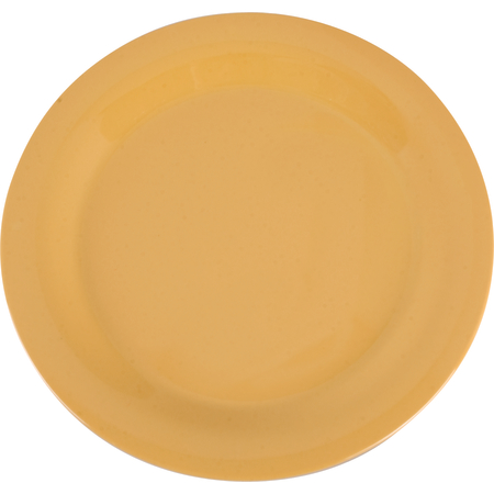 "3300222 - Sierrus™ Melamine Narrow Rim Dinner Plate 10.5"" - Honey Yellow"