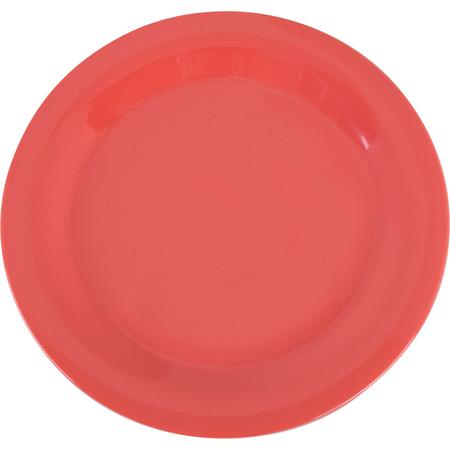 """3300252 - Sierrus™ Melamine Narrow Rim Dinner Plate 10.5"""" - Sunset Orange"""