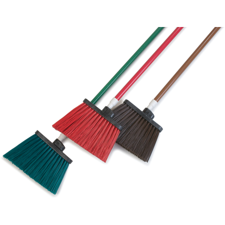 """4108301 - Sparta® Spectrum® Duo-Sweep® Angle Broom Unflagged 56"""" Long - Brown"""