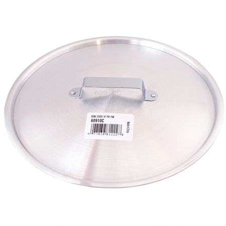 "60910C - Dome Fry Pan Cover 10"" - Aluminum"