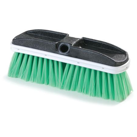 "3646875 - Flo-Thru Brush with Flagged Nylex Bristles 10"" - Green"